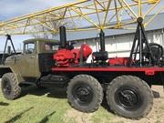 Буровая установка УРБ 2.5 А на базе Зила 131 с инструментом