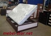 Кровать с матрасом и подъемным