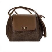 Женская сумка MASCO (Маско) Chocolate big clutch