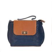 Женская сумка Masco (Маско) Blue & Terracote big clutch